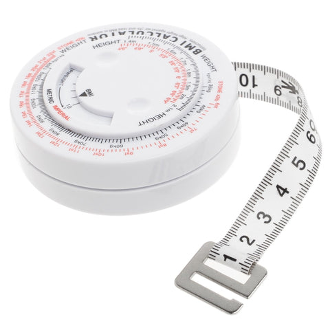 The BMI Body Mass Index Retractable Tape Measure