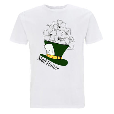 MAD HATTER - Unisex T-shirt - DESIGN 1