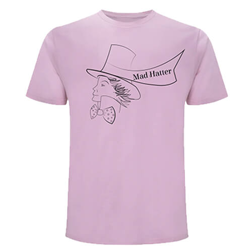 MAD HATTER - Unisex T-shirt - DESIGN 4