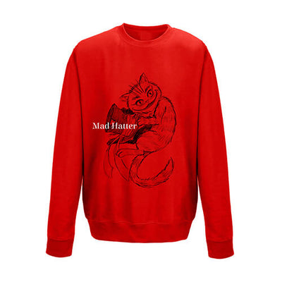 MAD HATTER - Unisex sweatshirt - DESIGN 13