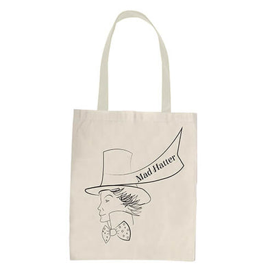 MAD HATTER-U-Tote Bag - DESIGN 15