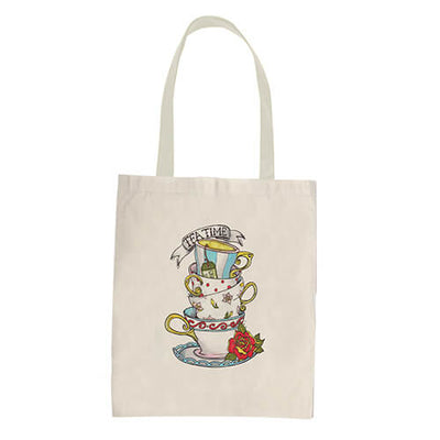 MAD HATTER-U-Tote Bag - DESIGN 17