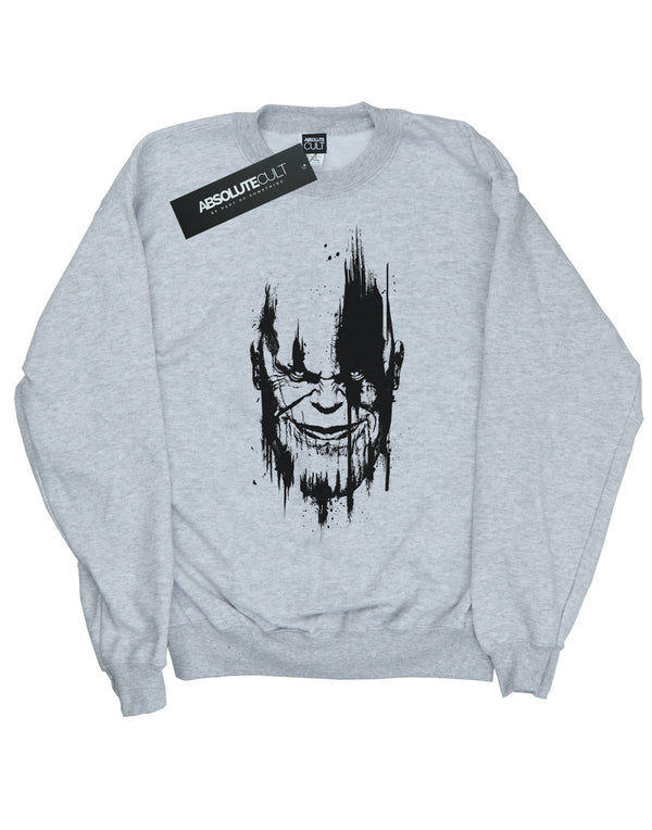 Avengers Girls Infinity War Thanos Face Sweatshirt