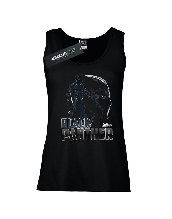 Avengers Women's Infinity War Black Panther Character Vest