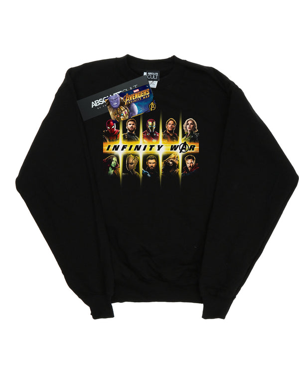 Marvel Girls Avengers Infinity War Team Lineup Sweatshirt