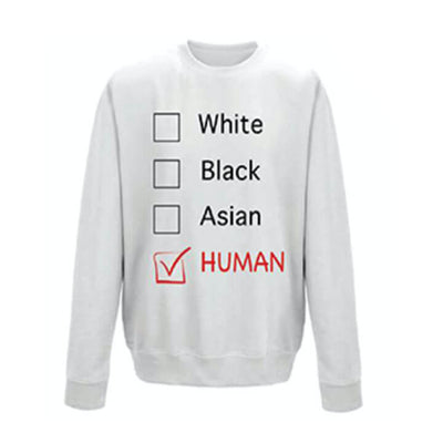 LOFA Arctic White Human Options Sweatshirt