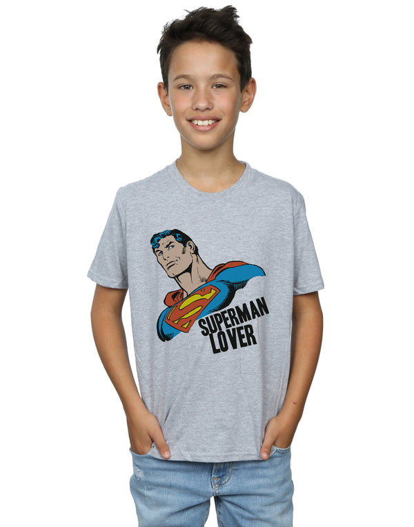 DC Comics Boys Superman Lover T-Shirt
