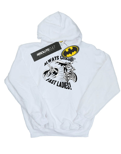 DC Comics Women's Batman Always Chasin' Hoodie