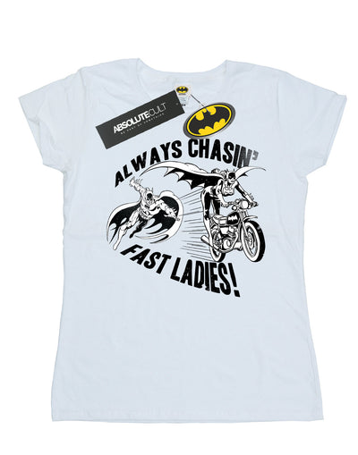 DC Comics Women's Batman Always Chasin' T-Shirt