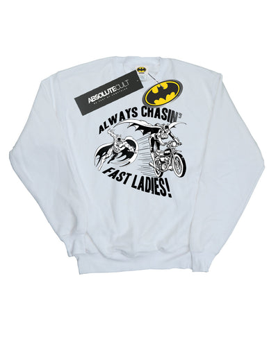 DC Comics Women's Batman Always Chasin' Sweatshirt