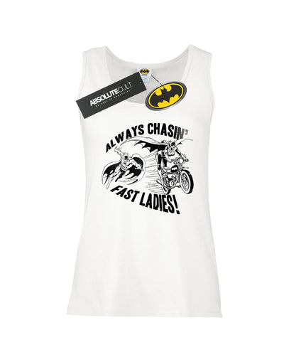 DC Comics Women's Batman Always Chasin' Vest