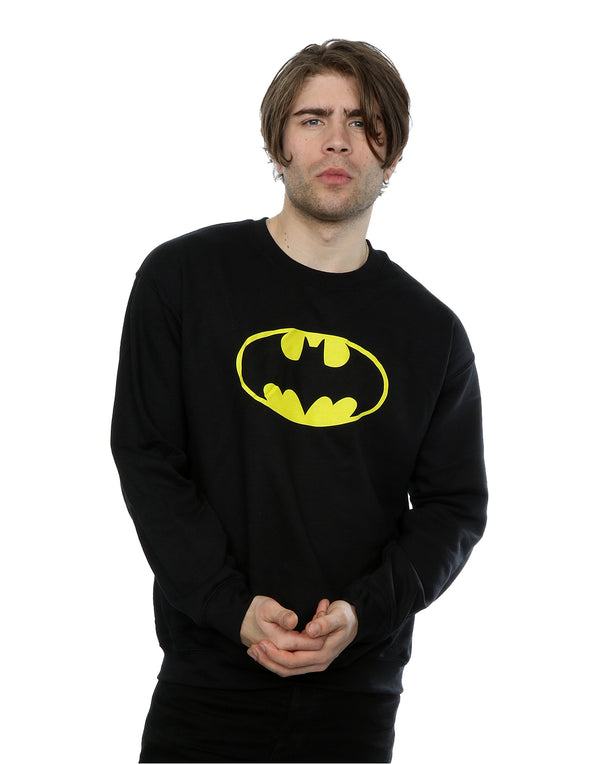 DC Comics Men's Batman Logo Sweatshirt