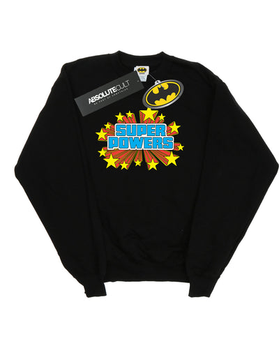 DC Comics Men's Super Powers Logo Sweatshirt