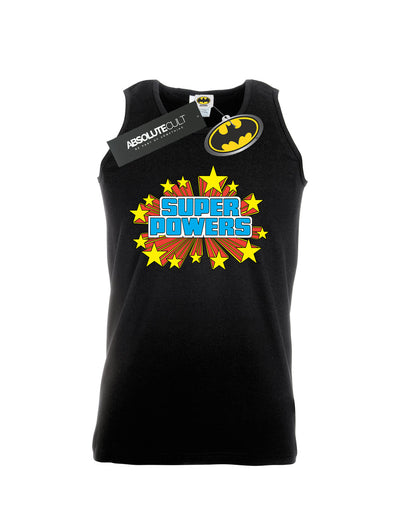 DC Comics Men's Super Powers Logo Vest