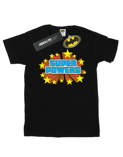 DC Comics Women's Super Powers Logo Boyfriend Fit T-Shirt