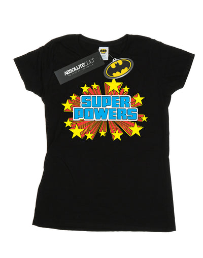 DC Comics Women's Super Powers Logo T-Shirt
