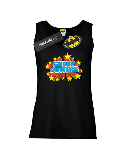 DC Comics Women's Super Powers Logo Vest