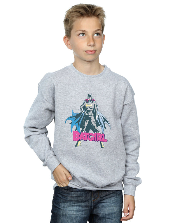 DC Comics Boys Batgirl Pose Sweatshirt