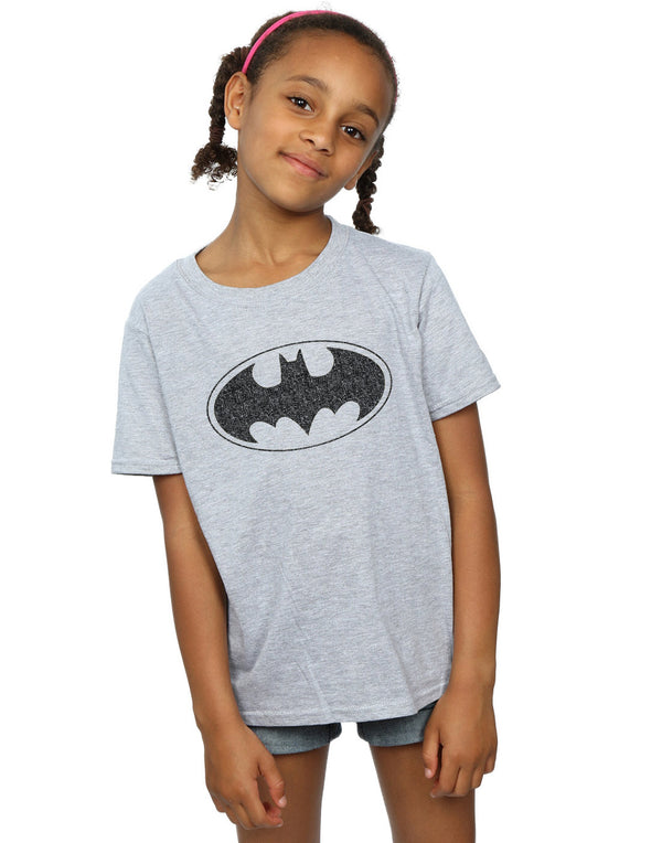 DC Comics Girls Batman One Colour Logo T-Shirt
