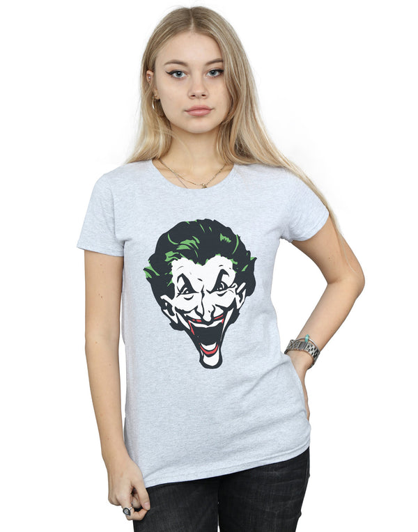 DC Comics Women's The Joker Big Face T-Shirt