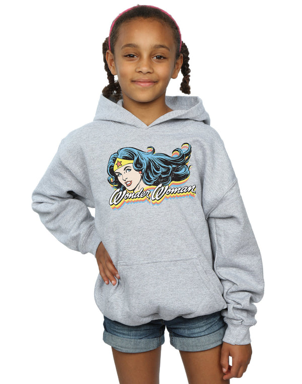 DC Comics Girls Wonder Woman Smile Hoodie