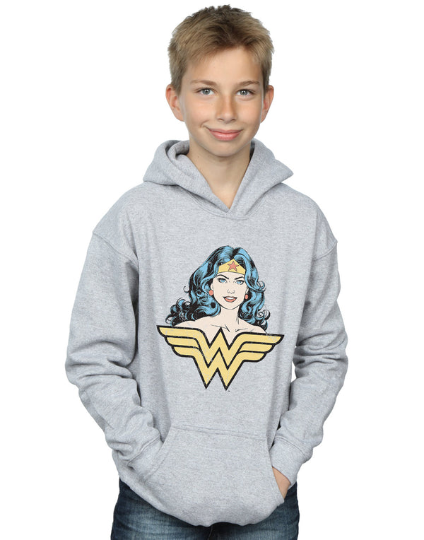 DC Comics Boys Wonder Woman Gaze Hoodie
