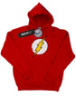 DC Comics Boys Flash Distressed Logo Hoodie