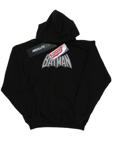 DC Comics Boys Batman Retro Crackle Logo Hoodie