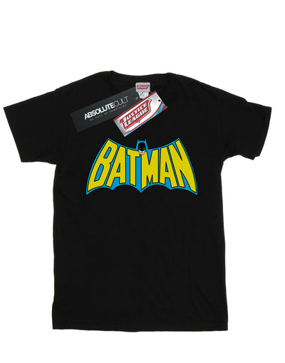 DC Comics Men's Batman Retro Logo T-Shirt
