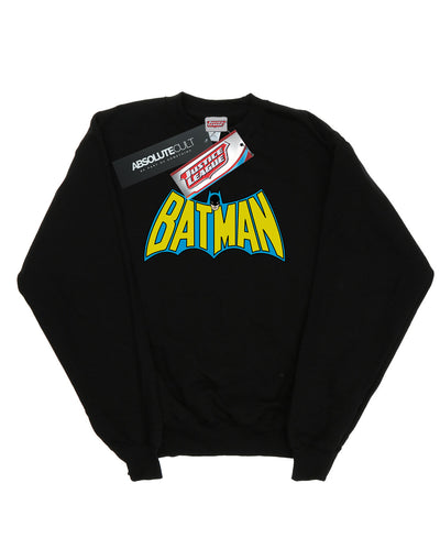 DC Comics Men's Batman Retro Logo Sweatshirt