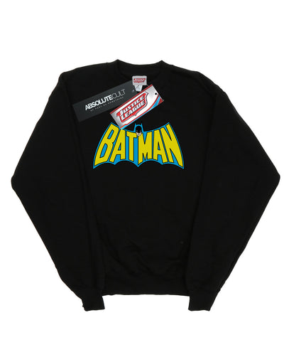 DC Comics Women's Batman Retro Logo Sweatshirt