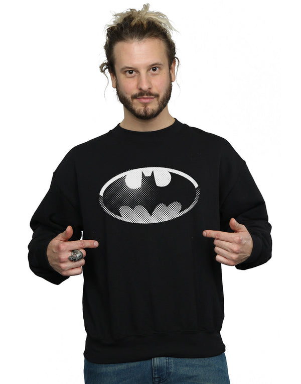 DC Comics Men's Batman Spot Logo Sweatshirt