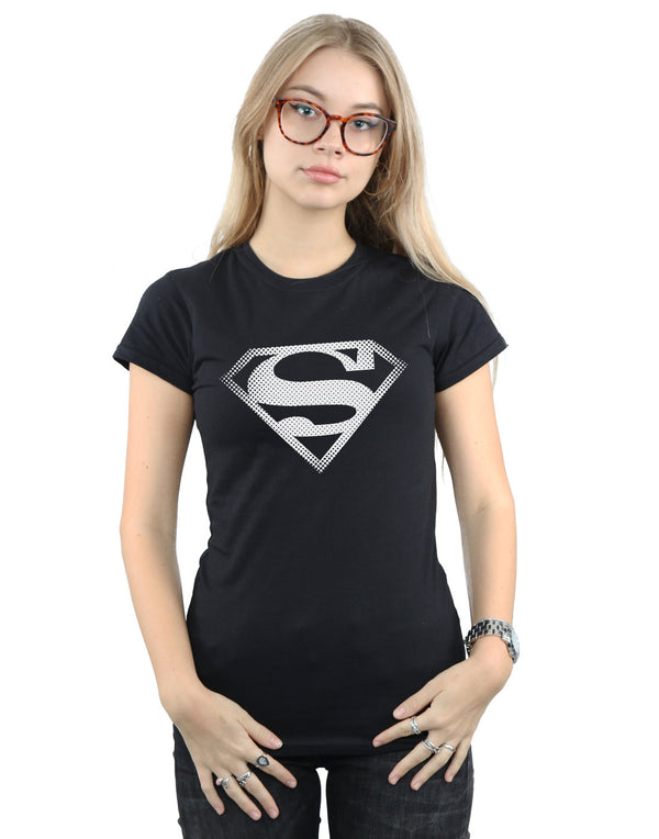 DC Comics Women's Superman Spot Logo T-Shirt