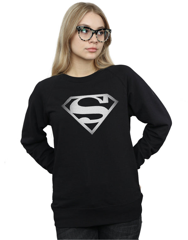 DC Comics Women's Superman Spot Logo Sweatshirt