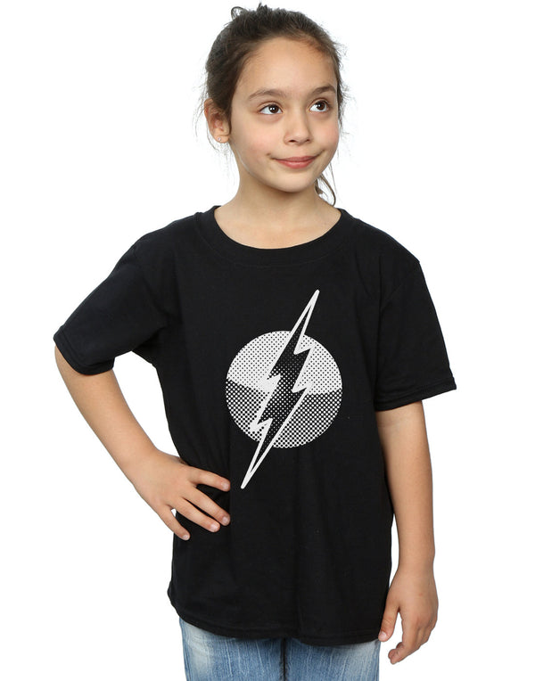 DC Comics Girls Flash Spot Logo T-Shirt