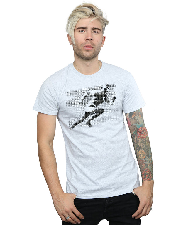 DC Comics Men's Flash Spot Racer T-Shirt