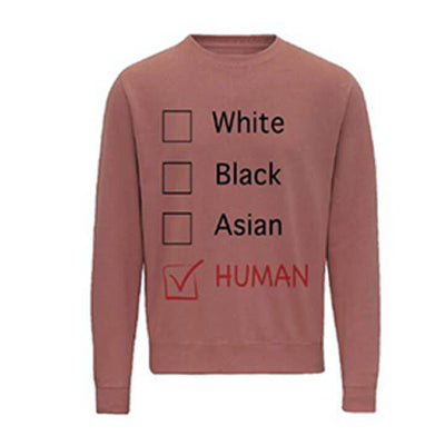 LOFA Dusty Pink Human Options Sweatshirt