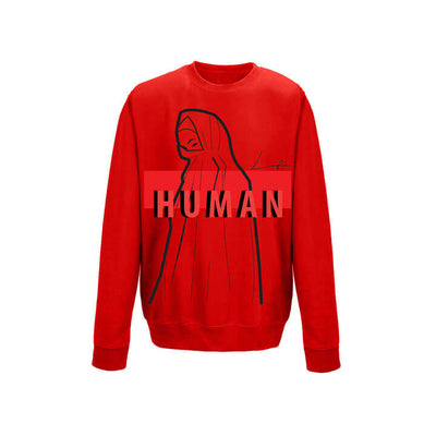 LOFA Human Made Fire-Red Sweatshirt