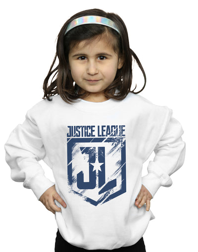 DC Comics Girls Justice League Movie Indigo Logo Sweatshirt