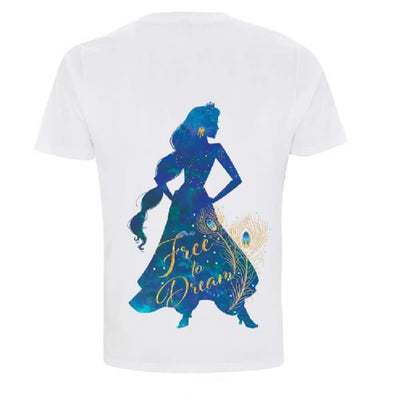 Official Disney Aladdin Free to Dream Limited Edition Women T-Shirt