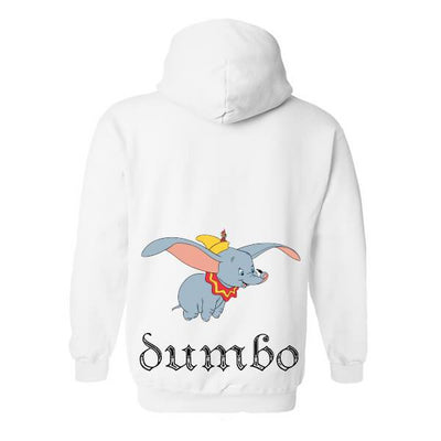 Official Disney Jumping Dumbo Unisex Hoodie