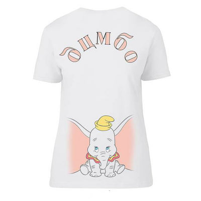 Official Disney Women DumboGothic T-shirt