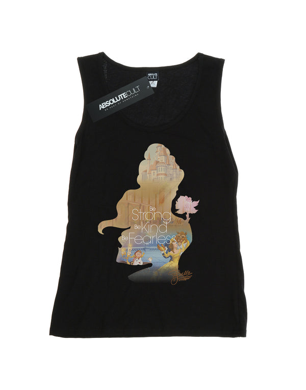 Disney Women's Princess Belle Filled Silhouette Vest