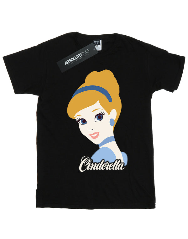 Disney Girls Princess Cinderella Silhouette T-Shirt