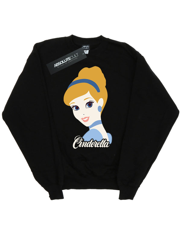Disney Girls Princess Cinderella Silhouette Sweatshirt