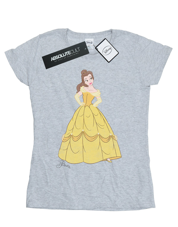 Disney Women's Beauty and the Beast Classic Belle T-Shirt