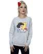 Disney Women's Princess Snow White Pop Art Sweatshirt - coolulu.com