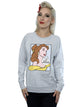 Disney Women's Princess Belle Pop Art Sweatshirt