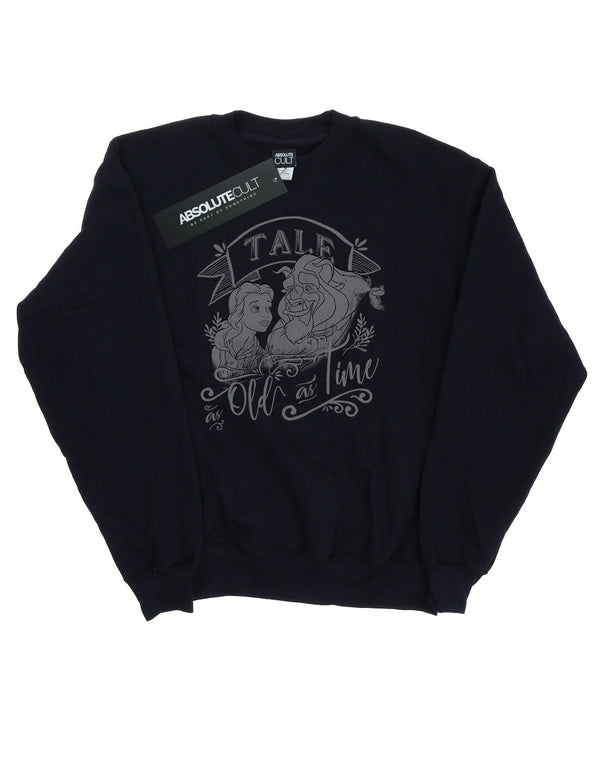 Disney Women's Beauty And The Beast Tale As Old As Time Sweatshirt - coolulu.com