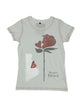 Aftershow Women's Beauty And The Beast Rose T-Shirt - coolulu.com